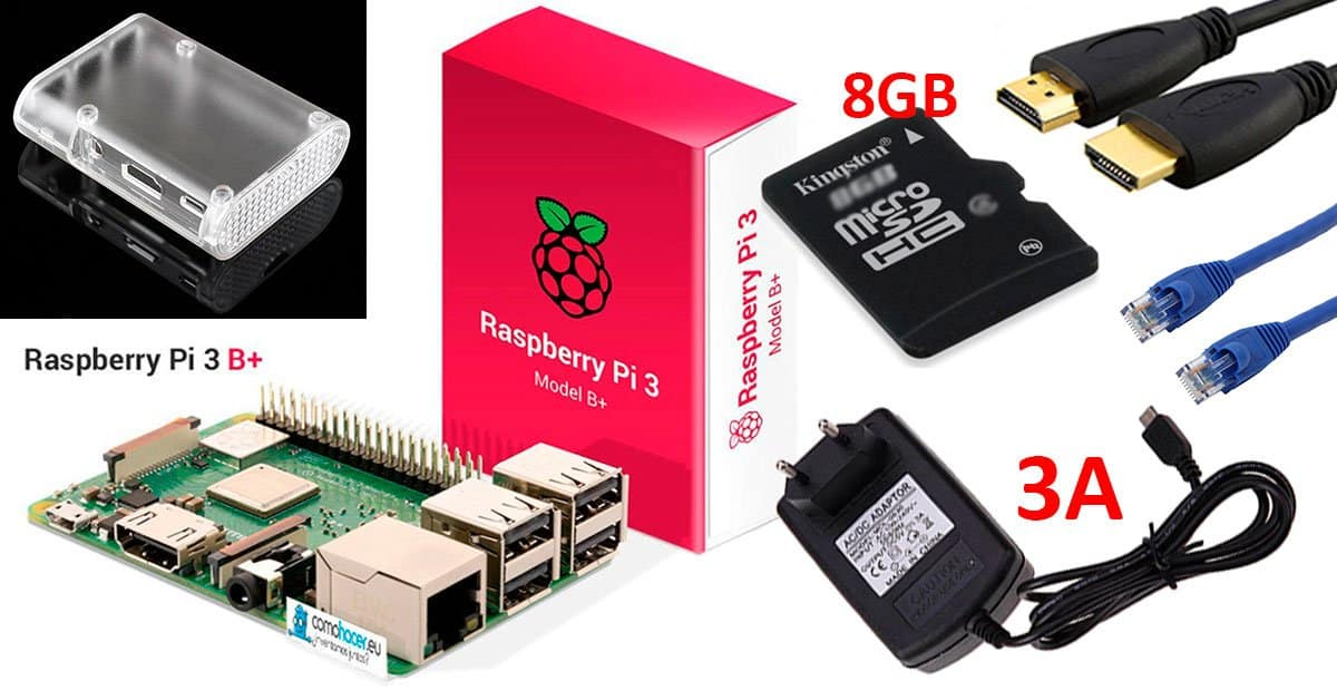 Kit de inicio Raspberry Pi